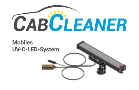 CabCleaner - Mobiles UV-C-LED-System zur Luft- und Oberflächenreinigung in Fahrzeugen