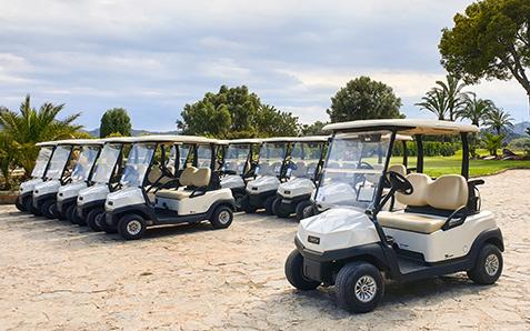 Golfcarts und Elektrofahrzeuge